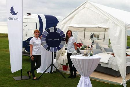 Ein Bett im Grünen – FENNOBED beim 7. GRK Golf Charity Masters ins Leipzig