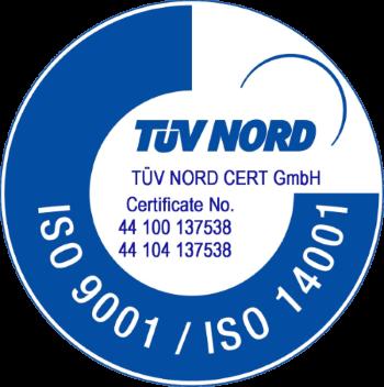 Ausgezeichnet: Das Umweltmanagementsystem von Fennobed ist jetzt TÜV zertifiziert
